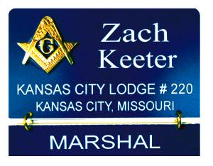 Eastern Star Masonic Name Badges, Masonic Name Tags, Masonic
