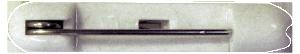 Name badge pin clasp