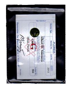 Magnetic Name Badge Holder